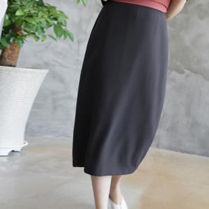 スカート レディース 40代 50代 60代 ファッション 女性 上品  グレー タイトスカート 無地 ロングスカート ロング丈 春夏 ミセス|alice-style