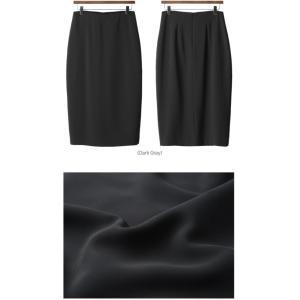 スカート レディース 40代 50代 60代 ファッション 女性 上品  グレー タイトスカート 無地 ロングスカート ロング丈 春夏 ミセス|alice-style|02