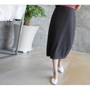 スカート レディース 40代 50代 60代 ファッション 女性 上品  グレー タイトスカート 無地 ロングスカート ロング丈 春夏 ミセス|alice-style|11