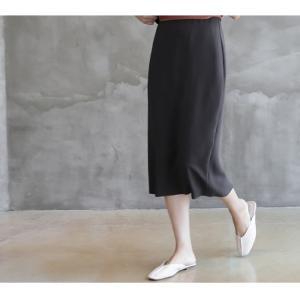 スカート レディース 40代 50代 60代 ファッション 女性 上品  グレー タイトスカート 無地 ロングスカート ロング丈 春夏 ミセス|alice-style|13