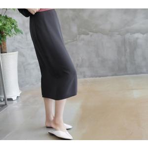 スカート レディース 40代 50代 60代 ファッション 女性 上品  グレー タイトスカート 無地 ロングスカート ロング丈 春夏 ミセス|alice-style|10