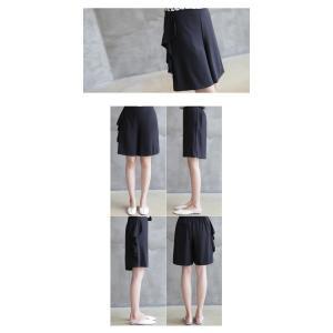 ブラウス レディース 40代 50代 60代 ファッション おしゃれ 女性 上品  黒 7分袖 アンバランス 幾何学模様 春夏 ミセス|alice-style|17