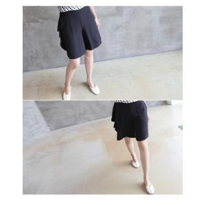ブラウス レディース 40代 50代 60代 ファッション おしゃれ 女性 上品  黒 7分袖 アンバランス 幾何学模様 春夏 ミセス|alice-style|18