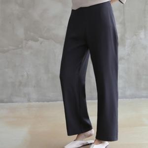 スラックス レディース 大人 40代 50代 60代 ファッション おしゃれ 女性 上品 黒 パンツ 無地 春夏 ミセス|alice-style