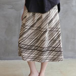 スカート レディース 大人 40代 50代 60代 ファッション おしゃれ 女性 上品 ベージュ ロング丈 きれいめ 春夏 ミセス|alice-style