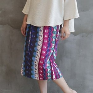 スカート レディース 大人 40代 50代 60代 ファッション おしゃれ 女性 上品 膝丈 柄 きれいめ 春夏 ミセス|alice-style