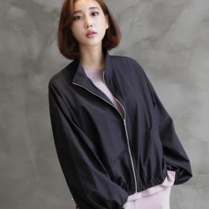 ジャケット レディース 大人 40代 50代 60代 ファッション おしゃれ 女性 上品 黒 ジップアップ ハーフ丈 きれいめ 春夏 ミセス|alice-style