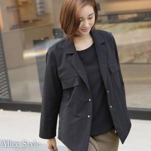 ジャケット レディース 大人 40代 50代 60代 ファッション おしゃれ 女性 上品 黒 ハーフ丈 きれいめ 通勤 春夏 ミセス|alice-style