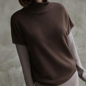 ニット レディース 40代 50代 60代 ファッション おしゃれ 女性 上品  黒  茶色  ベージュ  グレー トップス タートルネック 無地 秋 ミセス|alice-style