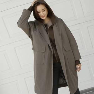 ジャケット レディース 40代 50代 60代 ファッション おしゃれ 女性 上品  黒 カーキ 緑 ロング丈 ゆったり 体形カバー 秋 ミセス|alice-style