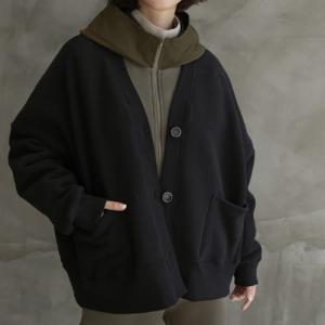 ジャケット レディース 40代 50代 60代 ファッション おしゃれ 女性 上品  黒  グレー ハーフ丈 ゆったり 体形カバー 秋 ミセス|alice-style