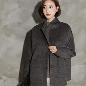 ジャケット レディース 40代 50代 60代 ファッション おしゃれ 女性 上品  茶色 ハーフ丈 ウール混 秋 ミセス|alice-style