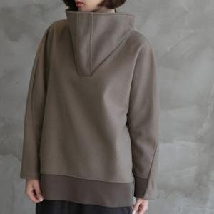 トップス レディース 40代 50代 60代 ファッション おしゃれ 女性 上品  ベージュ トレーナー 個性的 無地 長袖 秋 ミセス|alice-style