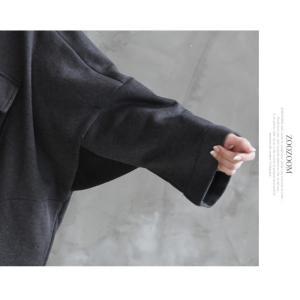 ジャケット レディース 40代 50代 60代 ファッション おしゃれ 女性 上品  黒 ハーフ丈 ドルマン ゆったり 体形カバー 秋 ミセス alice-style 04