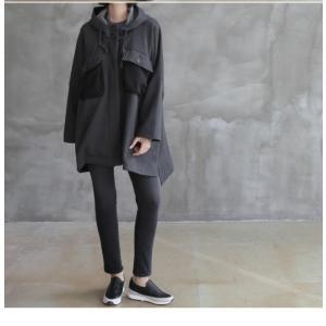 ジャケット レディース 40代 50代 60代 ファッション おしゃれ 女性 上品  黒 ハーフ丈 ドルマン ゆったり 体形カバー 秋 ミセス alice-style 08