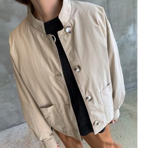 ジャケット レディース 40代 50代 60代 ファッション おしゃれ 女性 上品  黒  ベージュ ハーフ丈 きれいめ 通勤 秋 ミセス|alice-style