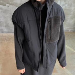 ベスト レディース 40代 50代 60代 ファッション おしゃれ 女性 上品  黒  ベージュ ハーフ丈 ジップアップ きれいめ 秋 ミセス|alice-style