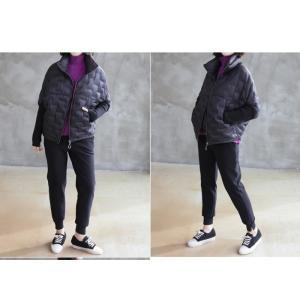 ジャケット レディース 40代 50代 60代 ファッション おしゃれ 女性 上品  黒 ハーフ丈 ジップアップ 秋 ミセス|alice-style|11