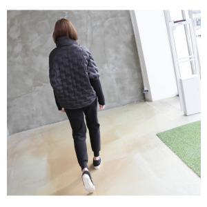 ジャケット レディース 40代 50代 60代 ファッション おしゃれ 女性 上品  黒 ハーフ丈 ジップアップ 秋 ミセス|alice-style|15