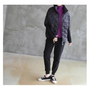 ジャケット レディース 40代 50代 60代 ファッション おしゃれ 女性 上品  黒 ハーフ丈 ジップアップ 秋 ミセス|alice-style|16