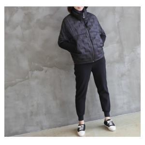 ジャケット レディース 40代 50代 60代 ファッション おしゃれ 女性 上品  黒 ハーフ丈 ジップアップ 秋 ミセス|alice-style|04