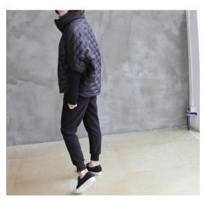 ジャケット レディース 40代 50代 60代 ファッション おしゃれ 女性 上品  黒 ハーフ丈 ジップアップ 秋 ミセス|alice-style|05