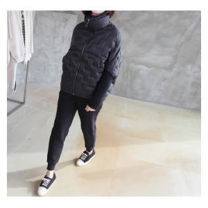 ジャケット レディース 40代 50代 60代 ファッション おしゃれ 女性 上品  黒 ハーフ丈 ジップアップ 秋 ミセス|alice-style|07