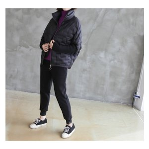 ジャケット レディース 40代 50代 60代 ファッション おしゃれ 女性 上品  黒 ハーフ丈 ジップアップ 秋 ミセス|alice-style|10