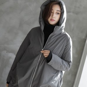 ジャケット レディース 40代 50代 60代 ファッション おしゃれ 女性 上品  黒  グレー ハーフ丈 中綿 ジップアップ ゆったり 秋 ミセス|alice-style