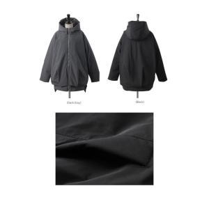 ジャケット レディース 40代 50代 60代 ファッション おしゃれ 女性 上品  黒  グレー ハーフ丈 中綿 ジップアップ ゆったり 秋 ミセス|alice-style|02