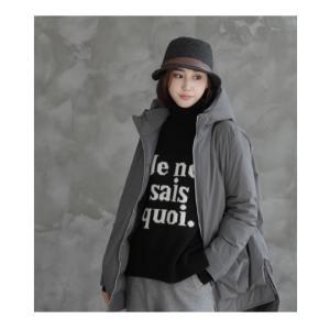 ジャケット レディース 40代 50代 60代 ファッション おしゃれ 女性 上品  黒  グレー ハーフ丈 中綿 ジップアップ ゆったり 秋 ミセス|alice-style|18