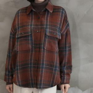 ジャケット レディース 40代 50代 60代 ファッション おしゃれ 女性 上品  赤  紺 青 ハーフ丈 チェック 長袖 きれいめ 秋 ミセス|alice-style