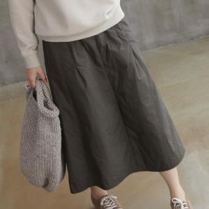 スカート レディース 40代 50代 60代 ファッション おしゃれ 女性 上品  黒  茶色  ベージュ  カーキ 緑 ロング丈 無地 きれいめ 秋 ミセス|alice-style