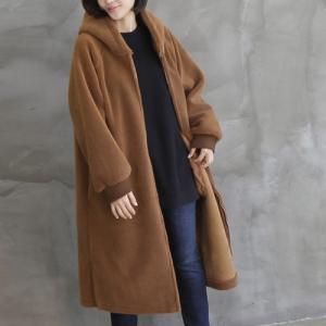 ジャケット レディース 40代 50代 60代 ファッション おしゃれ 女性 上品  黒 ロング丈 起毛 ジップアップ 秋 ミセス|alice-style
