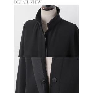 ワンピース レディース 40代 50代 60代 ファッション おしゃれ 女性 上品  黒 スーツワンピース 無地 きれいめ 長袖 膝丈 通勤 冬 ミセス|alice-style|20