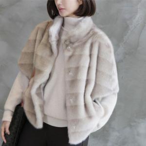 ジャケット レディース 40代 50代 60代 ファッション おしゃれ 女性 上品  茶色  グレー 起毛 ハーフ丈 ハイネック 冬 ミセス|alice-style