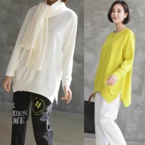 ブラウス レディース 40代 50代 60代 ファッション おしゃれ 女性 上品 黒 ルーズフィット ゆったりめ ラグランTシャツ 長袖 無地|alice-style