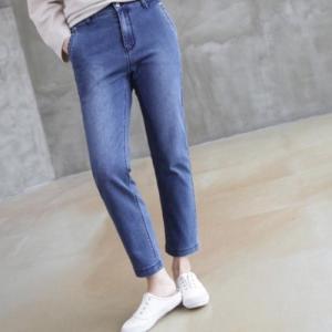 後部バンディング レディース 40代 50代 60代 ファッション おしゃれ 女性 上品 デニムパンツ 冬 ミセス|alice-style