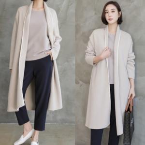 カーディガン レディース 40代 50代 60代 ファッション おしゃれ 女性 上品 ベージュ ラインポイントオープン ゆったりめ 無地|alice-style