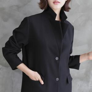 ハーフジャケット レディース 40代 50代 60代 ファッション おしゃれ 女性 上品  黒 ツーボタン ジャケット ベルトセット 無地 冬 ミセス|alice-style