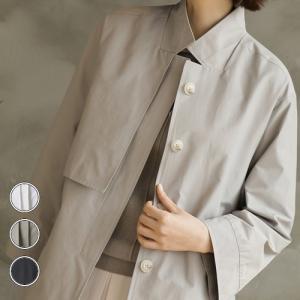 ジャケット レディース 40代 50代 60代 ファッション おしゃれ 女性 上品  黒  ベージュ サイドスリット 長袖 無地 冬 ミセス|alice-style