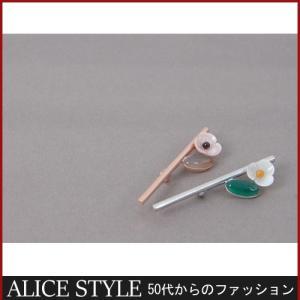 ブローチ 冬 ミセス|alice-style