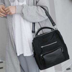 バックパック レディース 大人 バッグ リュックサック シンプル 夏 50代 40代 60代 ファッション 女性 黒|alice-style