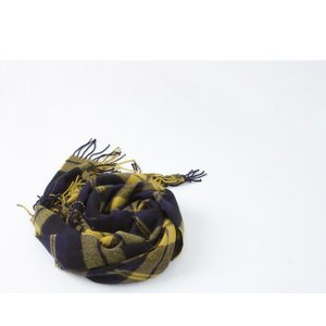 マフラー レディース 大人 チェック フリンジ 秋冬 40代 50代 60代 ファッション 女性 上品 ミセス alice-style