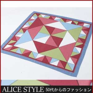 スカーフ 春 ミセス|alice-style