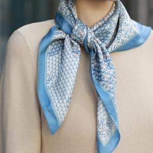 スカーフ レディース 40代 50代 60代 ファッション 女性 上品  グレーシルク100% 春 ミセス|alice-style