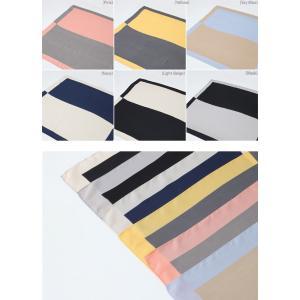 スカーフ 2018 春 50代 40代 60代 ファッション 女性 黒 ベージュ ネイビー ピンク|alice-style|06