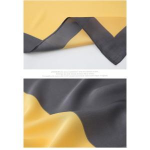 スカーフ 2018 春 50代 40代 60代 ファッション 女性 黒 ベージュ ネイビー ピンク|alice-style|08