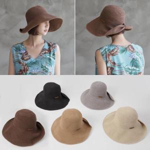帽子 レディース 40代 50代 60代 ファッション おしゃれ 女性 上品 黒 茶色 ベージュ グレー ペーパーヤーン 軽量 春夏物 高品質 ミセス|alice-style