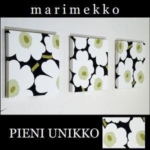 単品 ファブリックパネル アリス marimekko pieniunikko 30×30cm 単品販売 ホワイト 白 マリメッコ ピエニウニッコ インテリアパネル